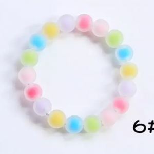Sweet colorful beads bracelet
